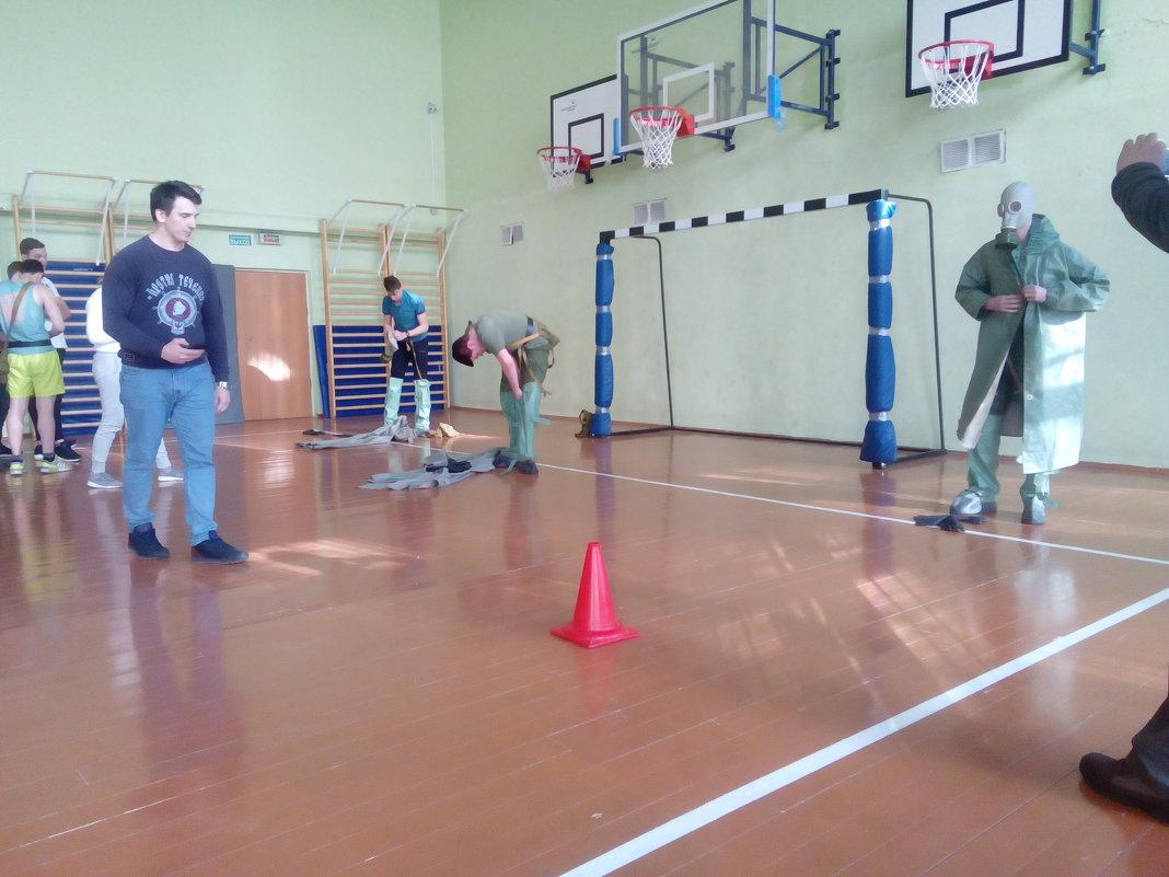 Районные соревнования допризывной молодежи по военно-технической подготовке - Центр Юность