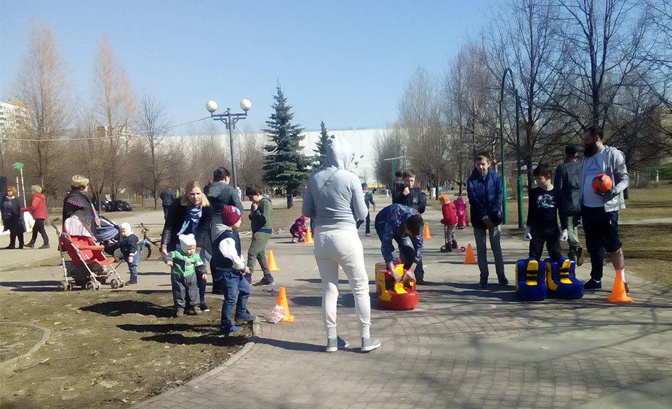 Спортивный праздник, посвященный Дню Космонавтики - Центр Юность