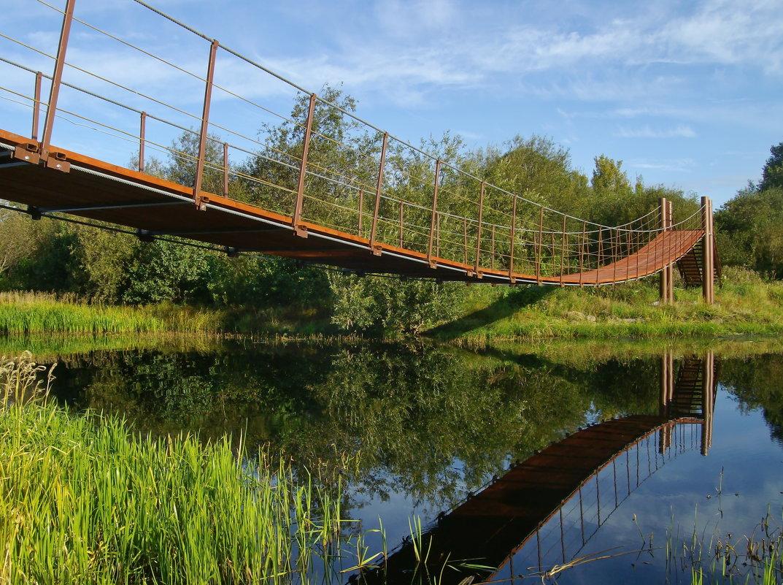 Подвесной мост - lady v.ekaterina