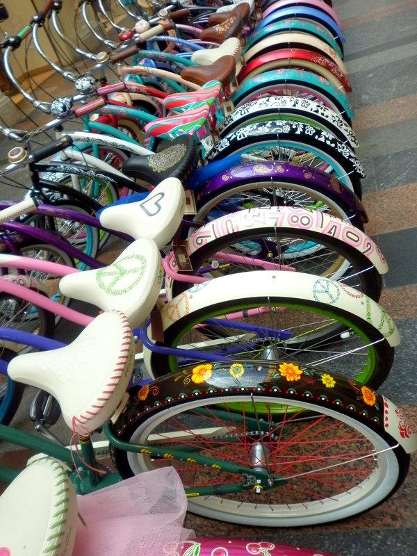 Модные велосипеды - Елена