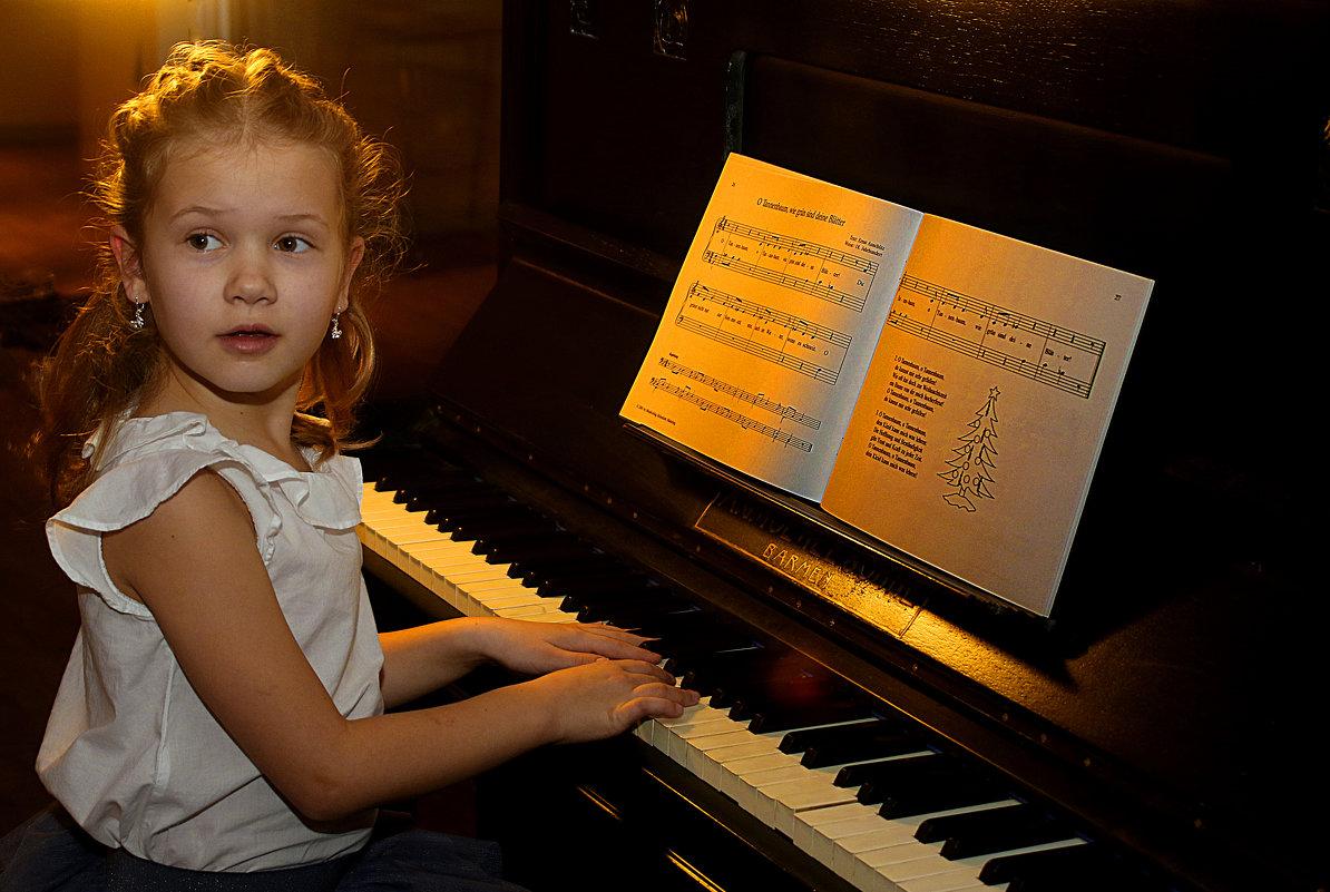 Пианистка. - Jakob Gardok