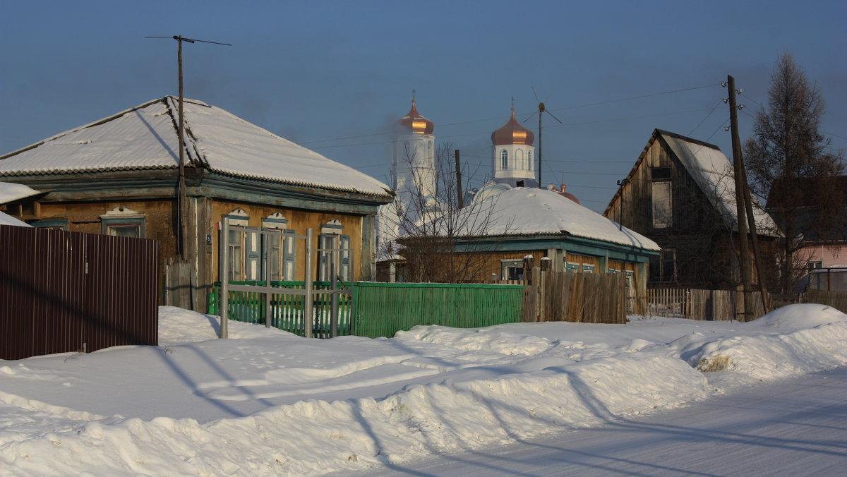 Зимним днём в деревне - Галина Козлова