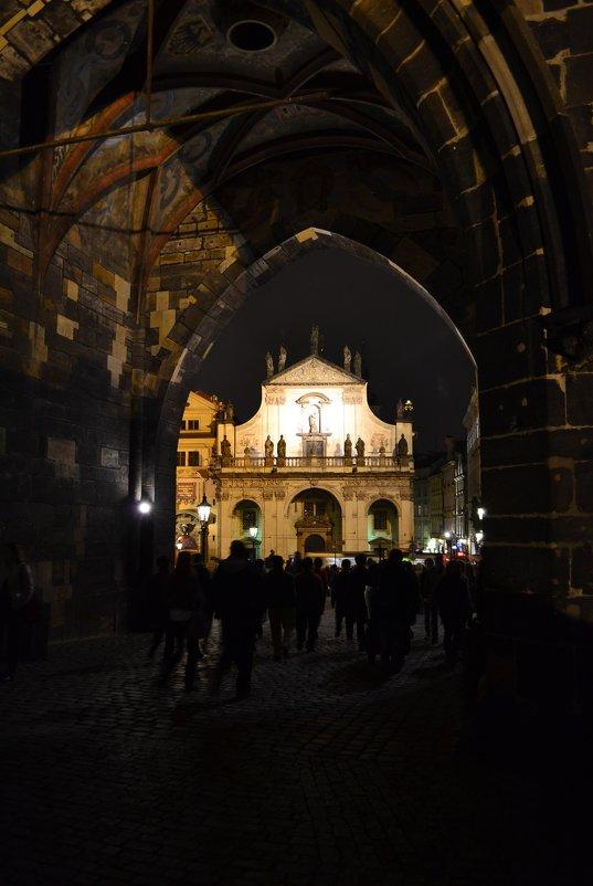 Вечерняя Прага - Ольга