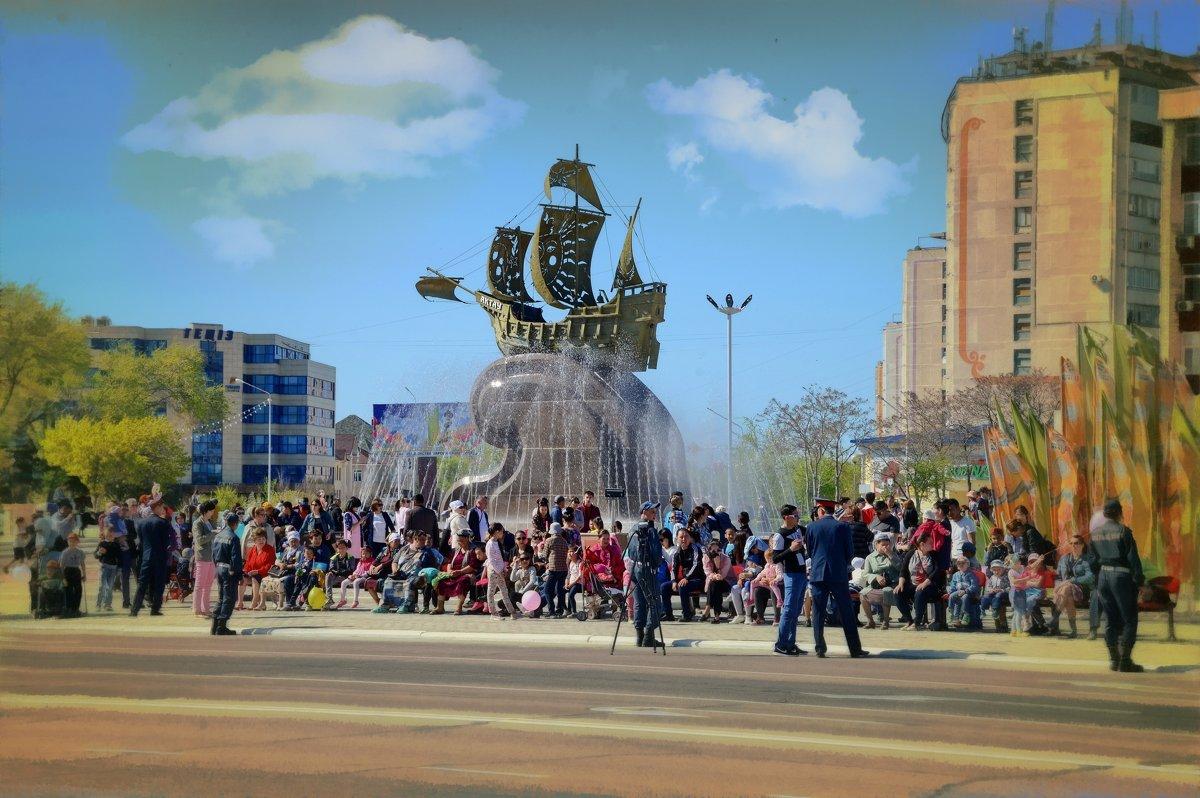 На площади - Анатолий Чикчирный