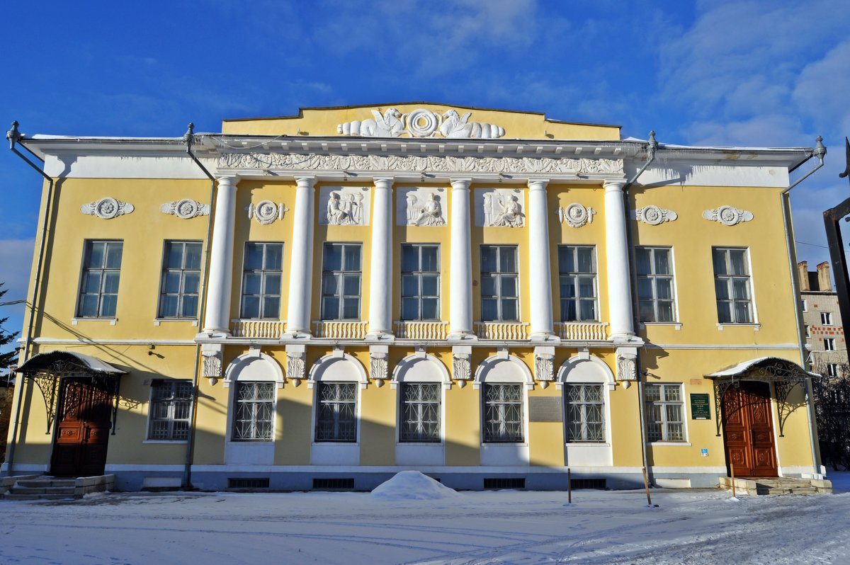 Музей изобразительных искусств в Калуге. - Лариса Вишневская