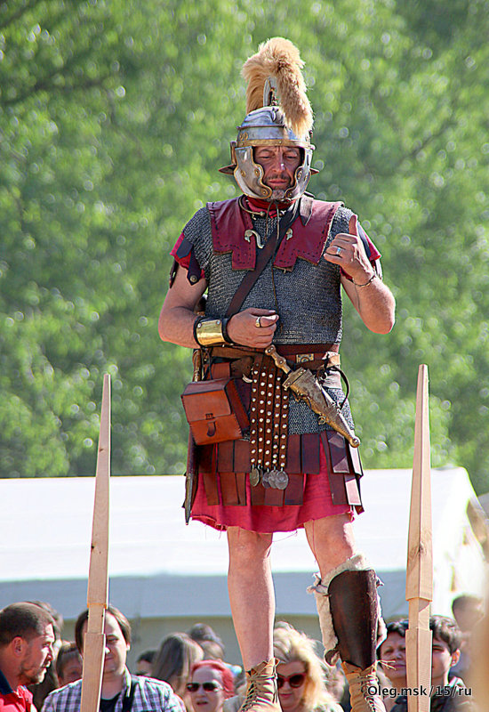 римский воин - Олег Лукьянов