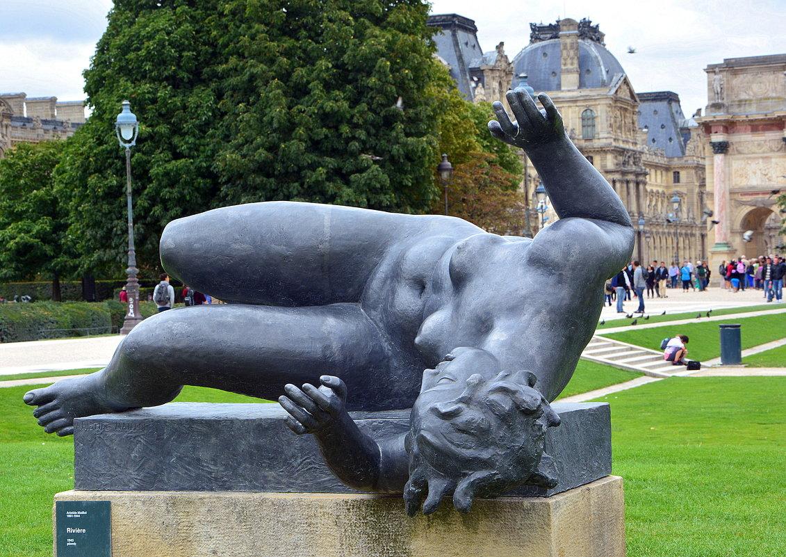 В парижском парке - Ольга (crim41evp)