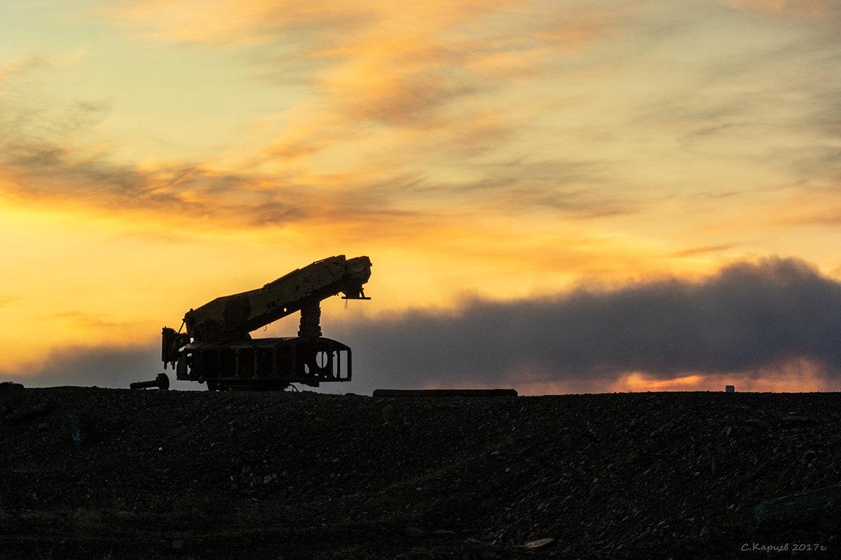 Пусковая установка на горе Обрыв - Сергей Карцев