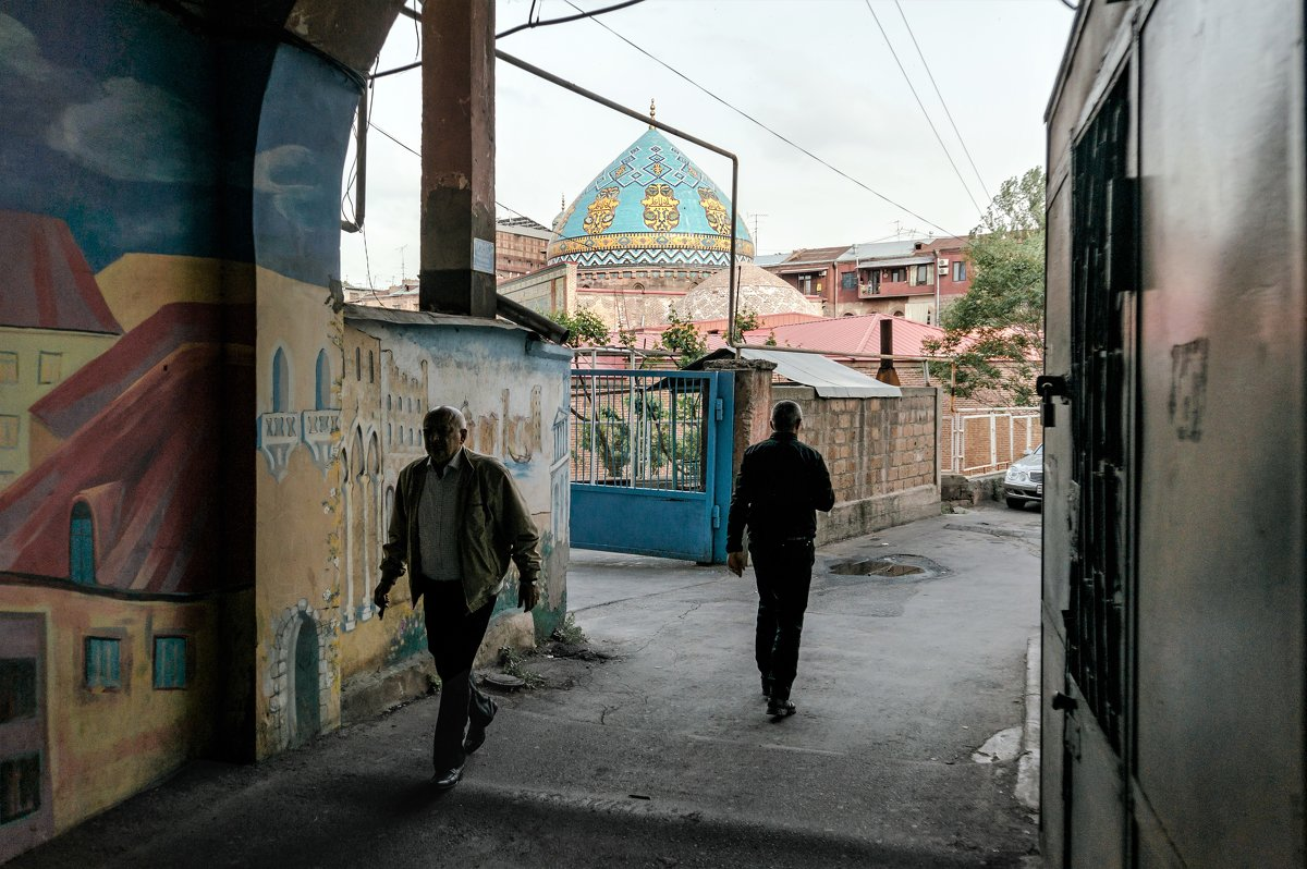 У Голубой мечети - Eugene *