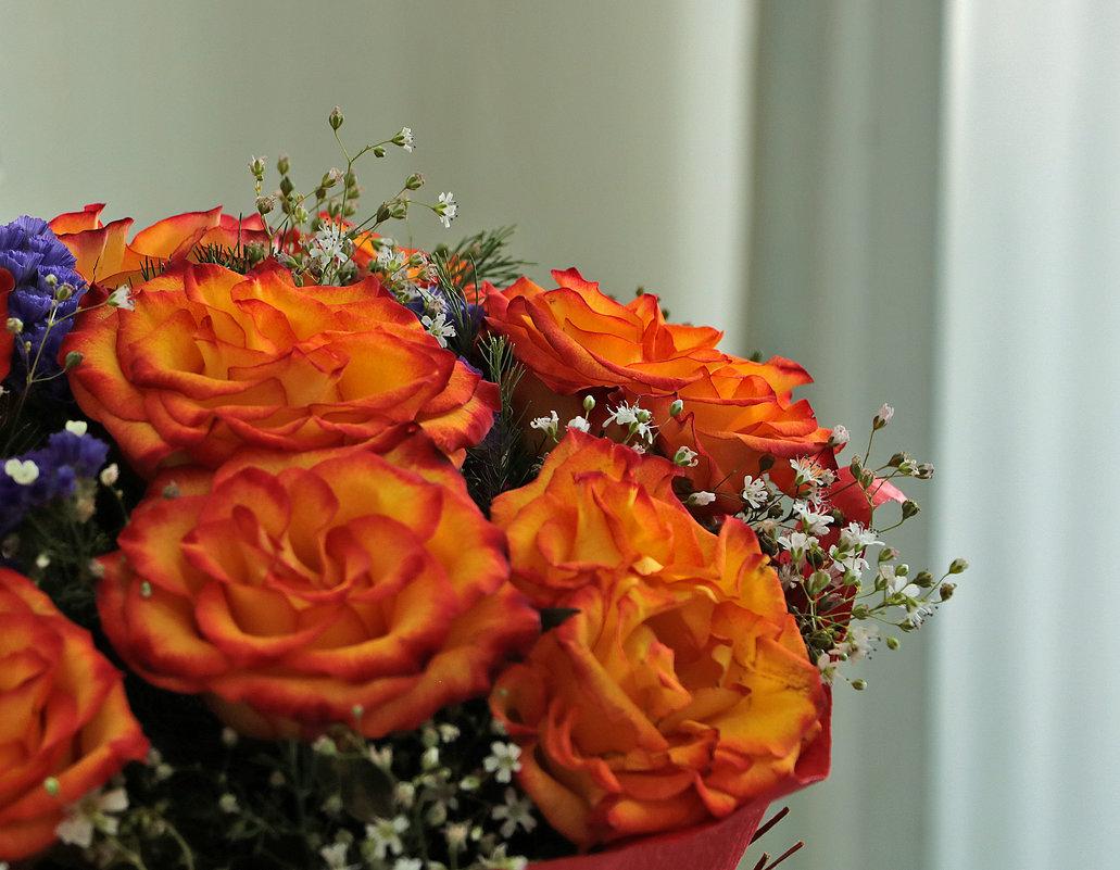 Букет необычных роз - Светлана