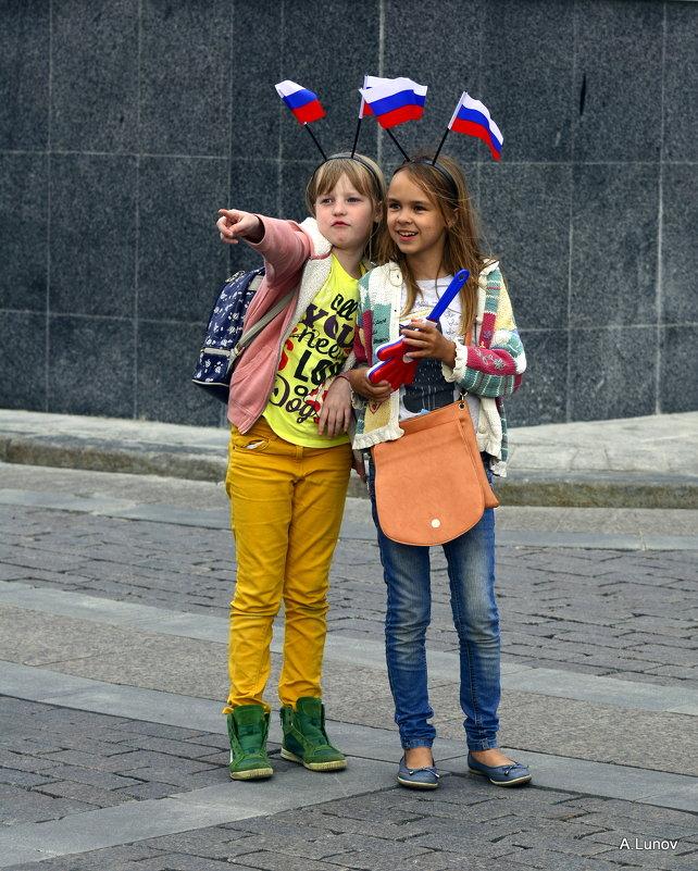 С такими болельщиками Россия не может проиграть! - Anatoley Lunov