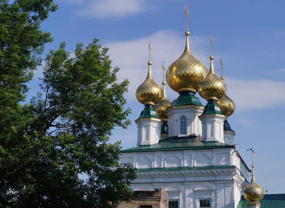 Никольский монастырь в городе Приволжск - Tanya