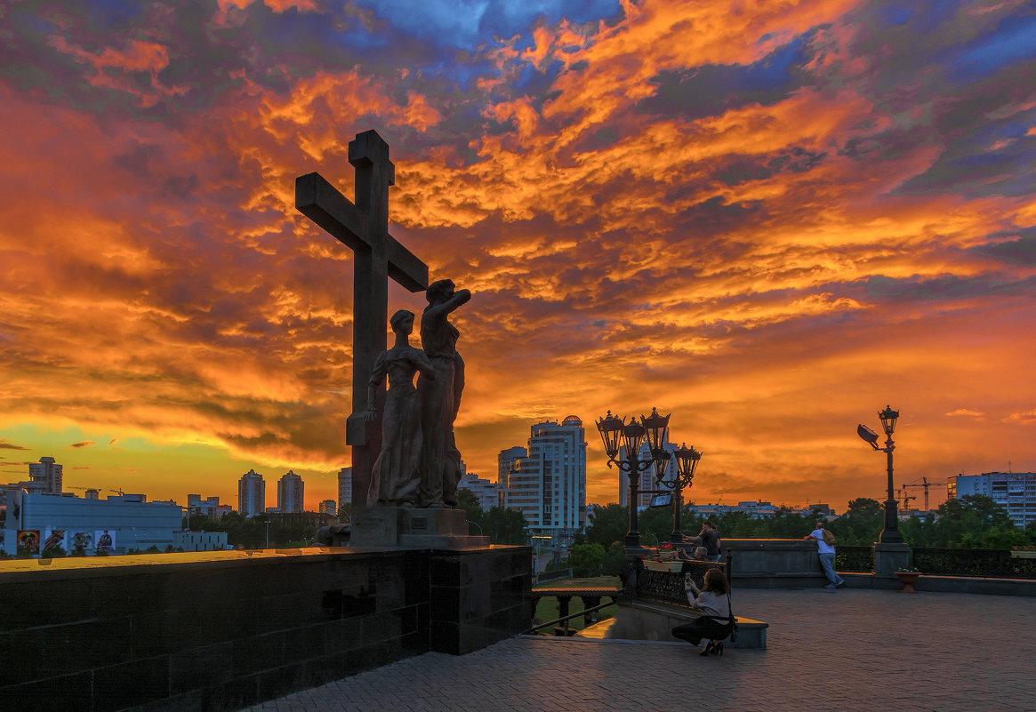 Закатное небо - vladimir Bormotov