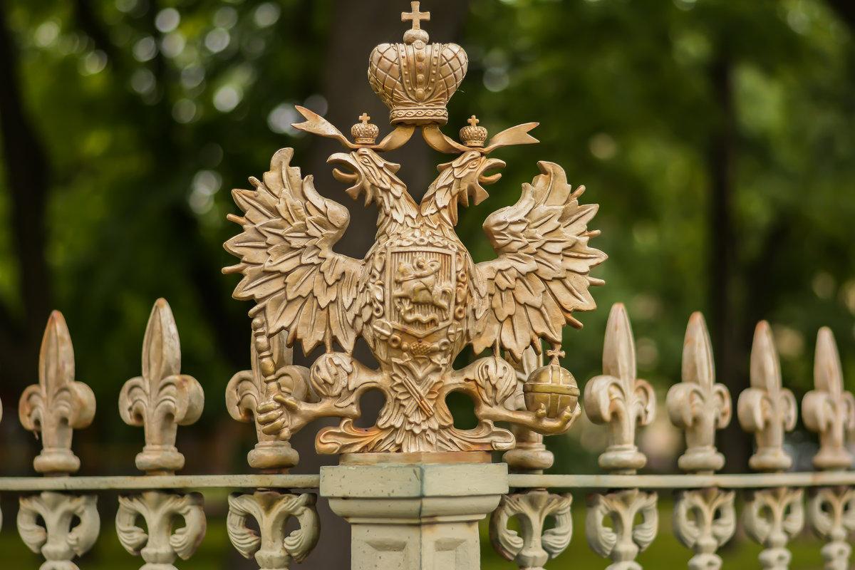 Элемент ограды домика Петра... - Андрей Кобриков