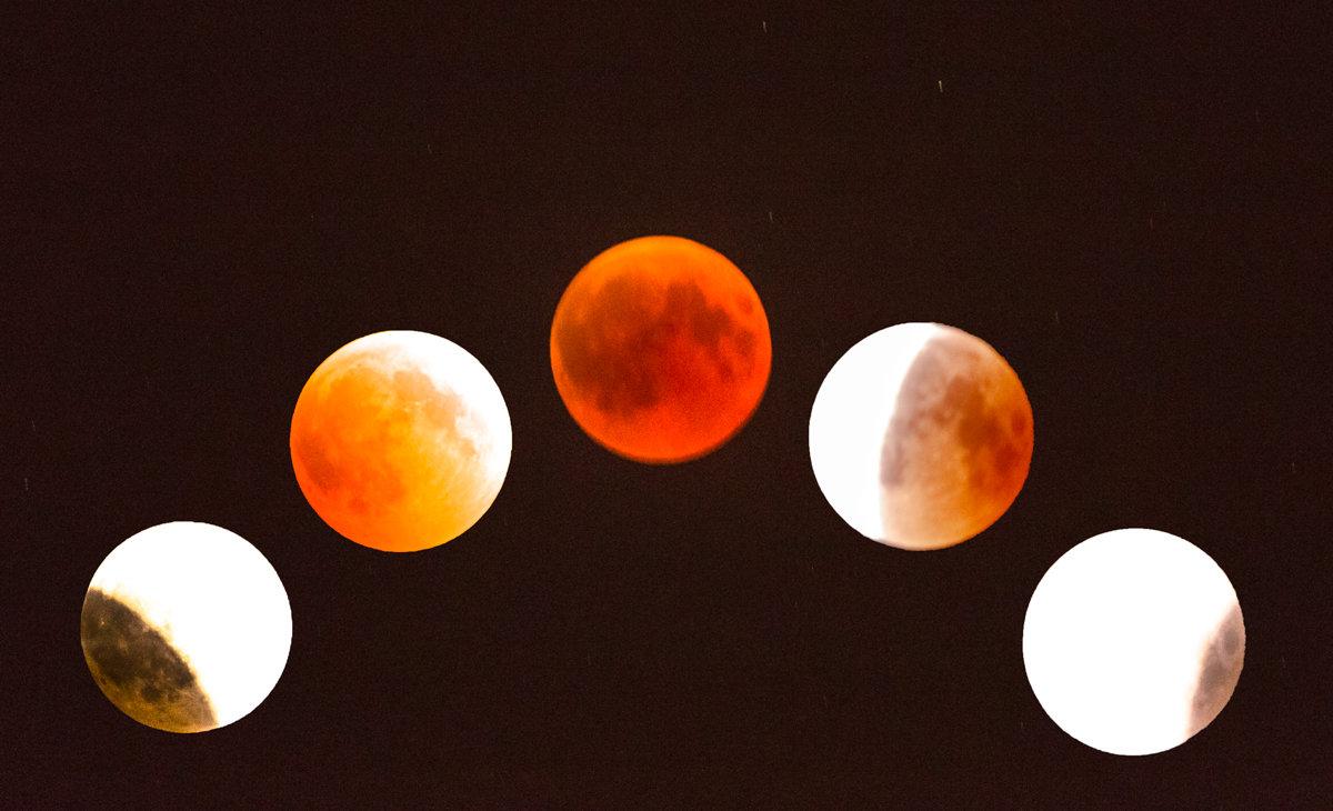 Лунное затмение - Адик Гольдфарб