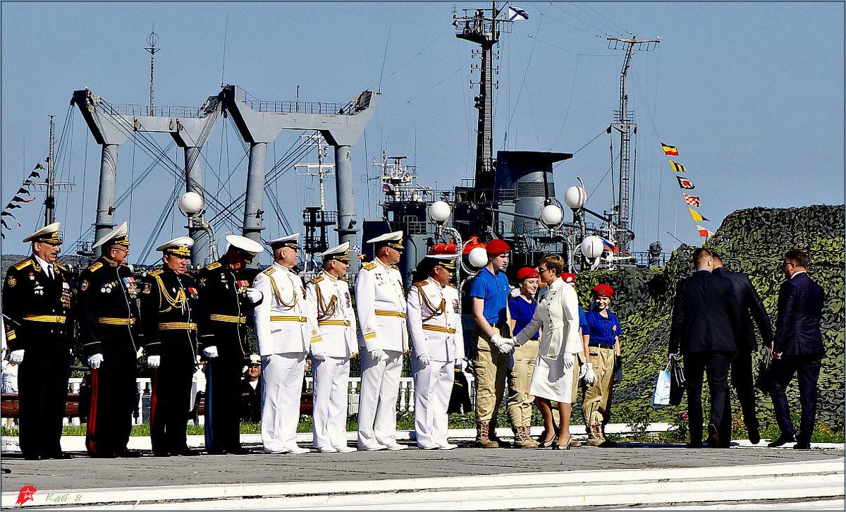 День ВМФ. Юнармию приветствует губернатор - Кай-8 (Ярослав) Забелин