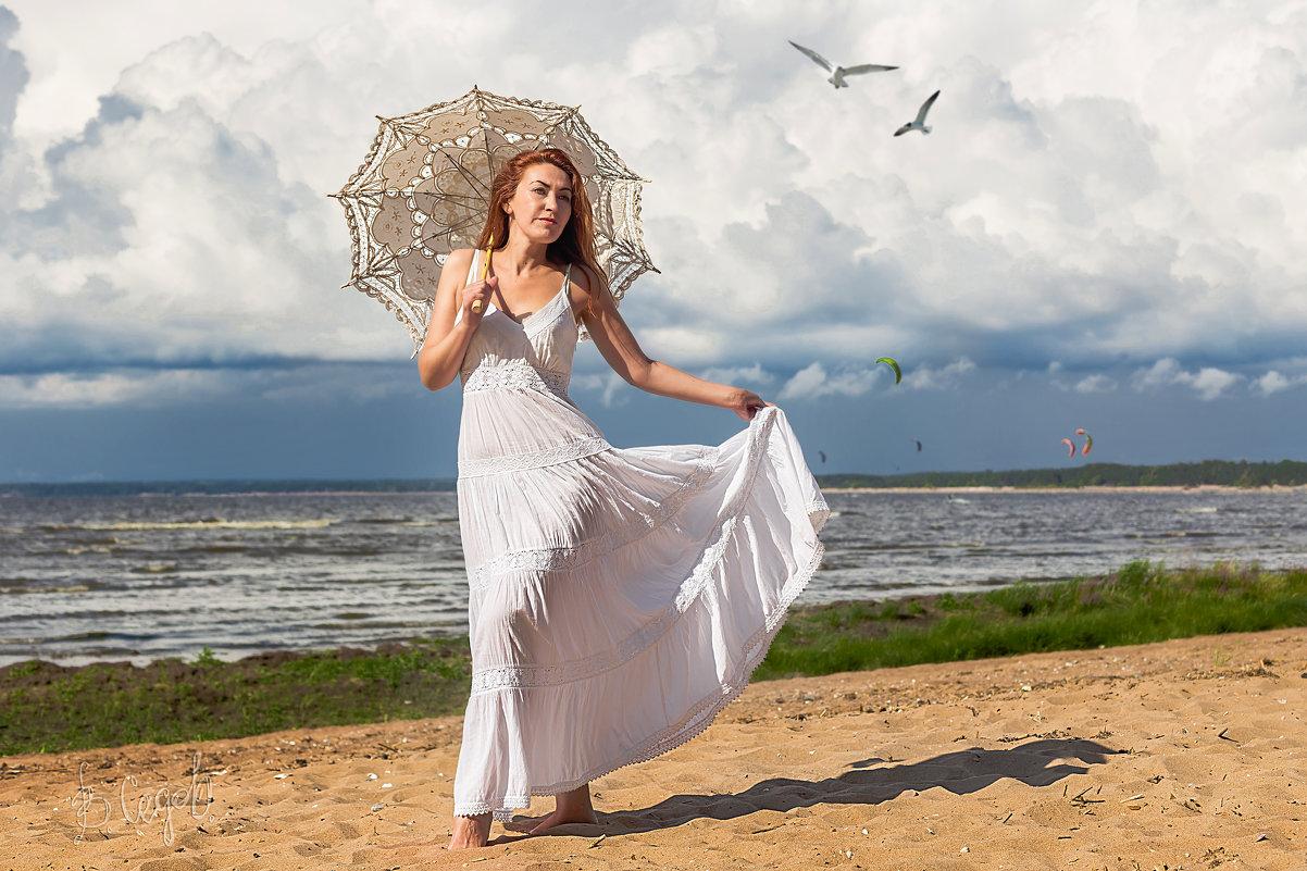 На пляжу с зонтиком я хожу. - Виктор Седов