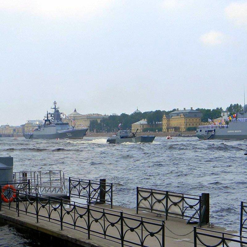 День ВМФ в Петербурге. - Елена
