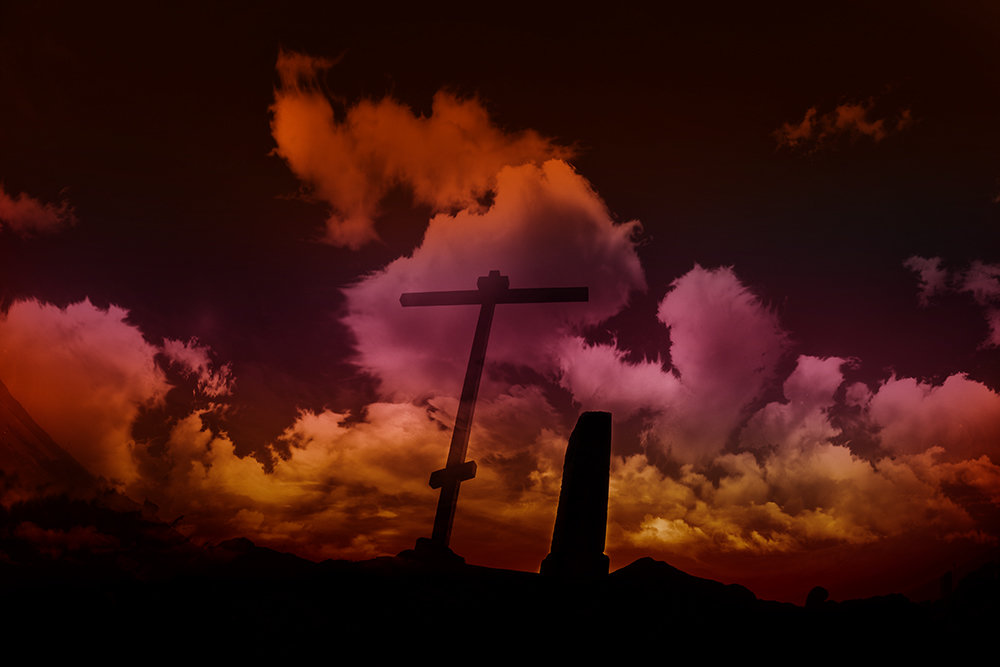 Cross in the clouds - Max Kenzory Experimental Photographer