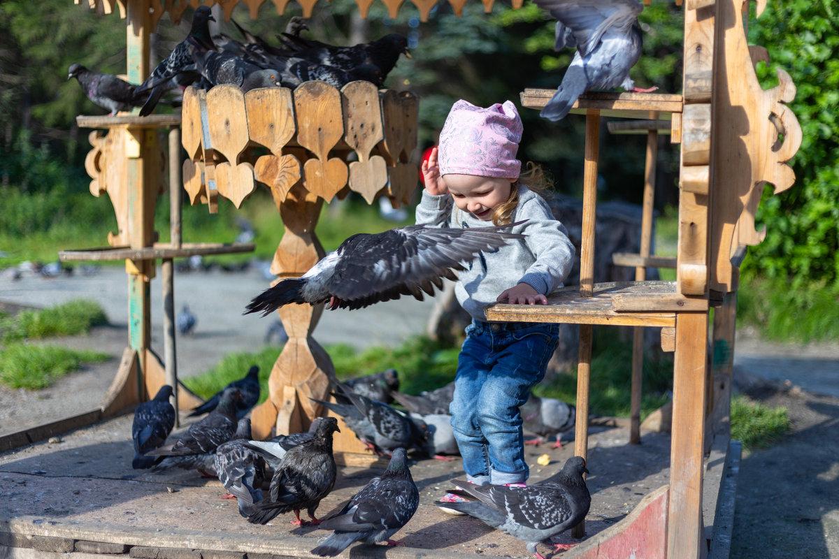 Любовь и голуби... - Юрий Петряев