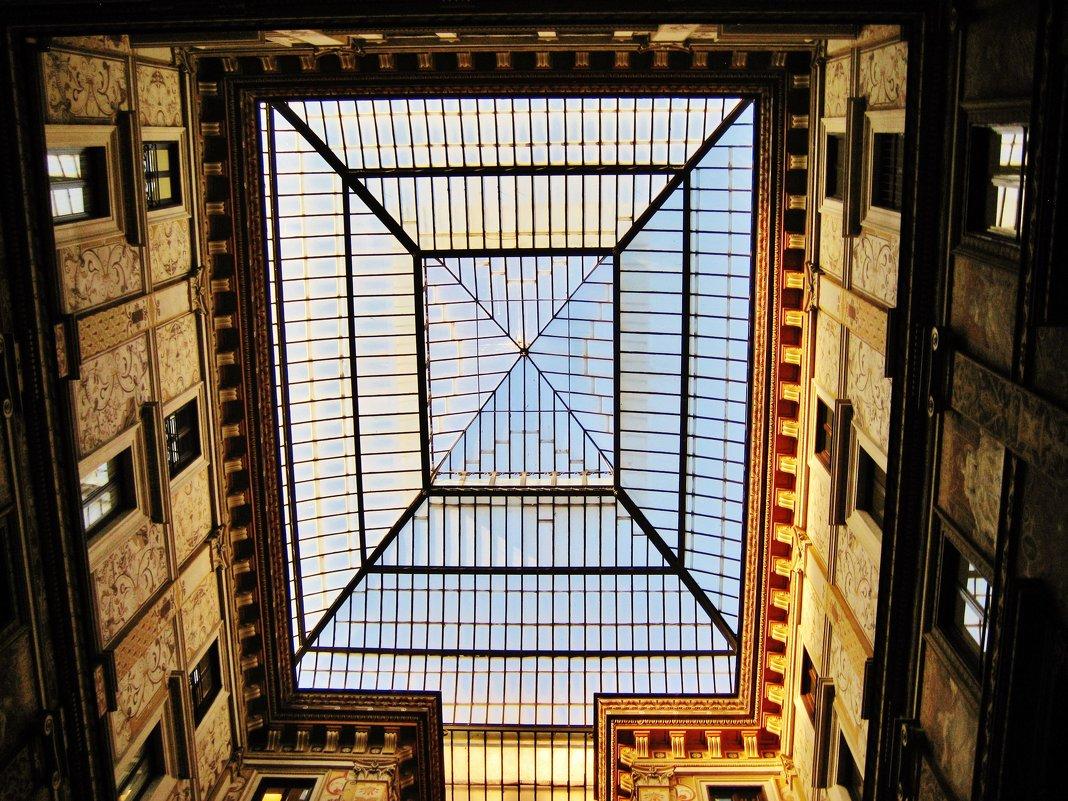 Крыша между домами - Aida10