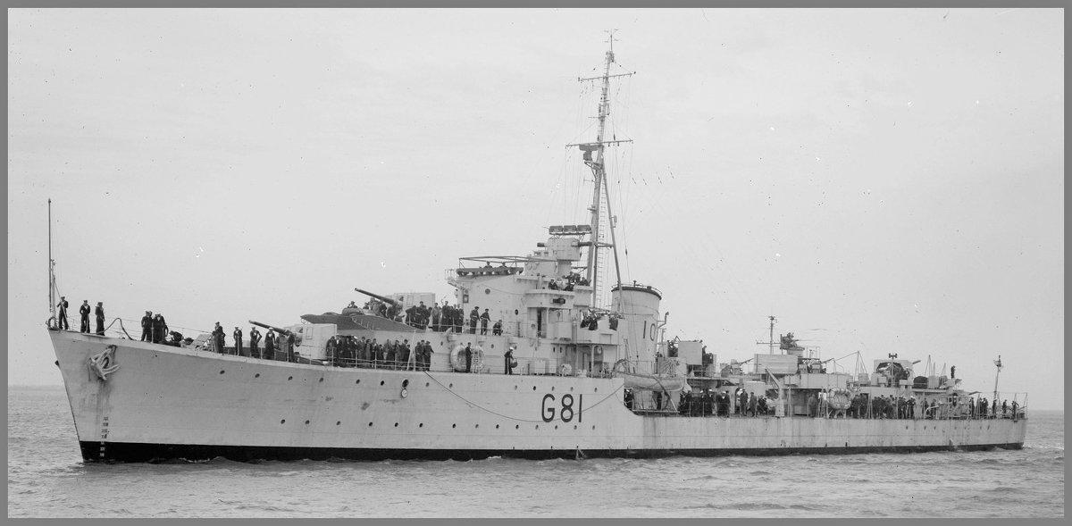 """""""HMAS Quiberon"""".эскадренный миноносец.Австралия. - Александр"""