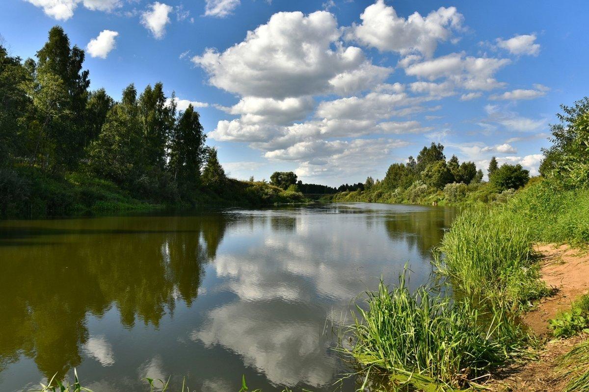 Жаркий денёк на реке Которосль - Татьяна Каневская