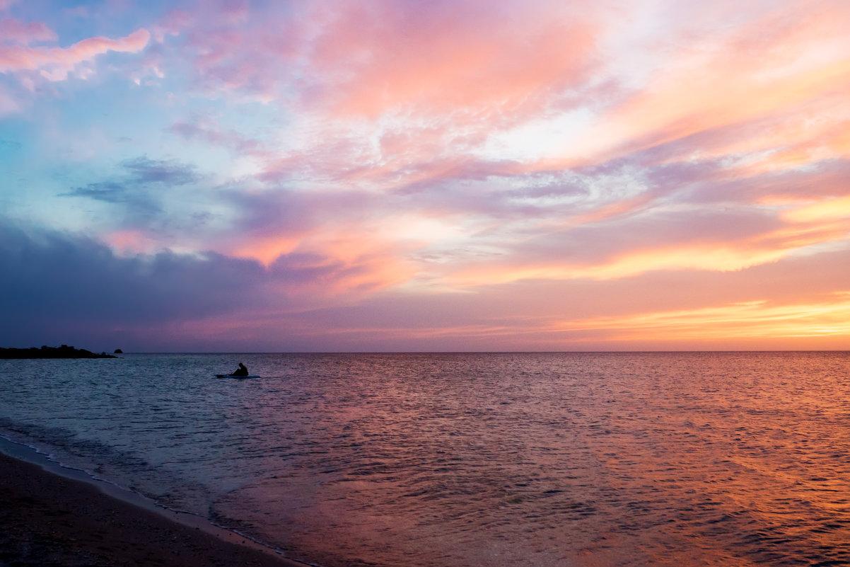 Мыс Тарханкут на закате. Крым - Александр Лядов