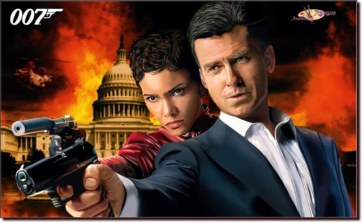 Bond... James Bond...  (работа выполненная на графическом планшете Huion.) № 49 - Anatol Livtsov