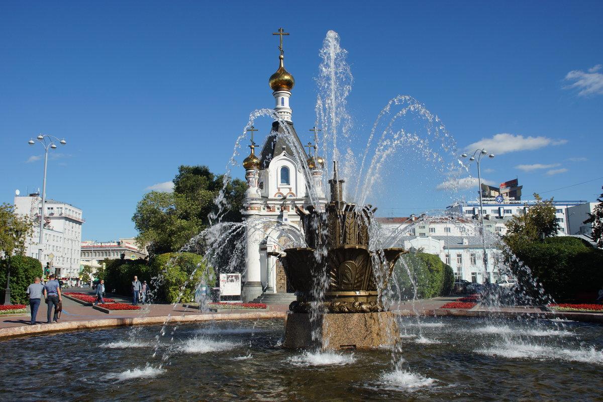 Фонтан Каменный цветок и часовня Святой Екатерины - Наталья Т