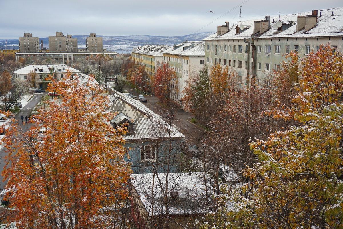 Первый снег.... - Анна Приходько