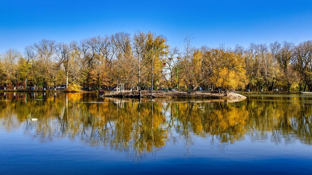 Пятигорское озеро. Осень - Николай Николенко