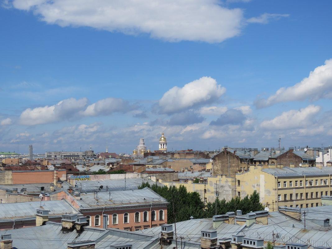 крыши города - Галина