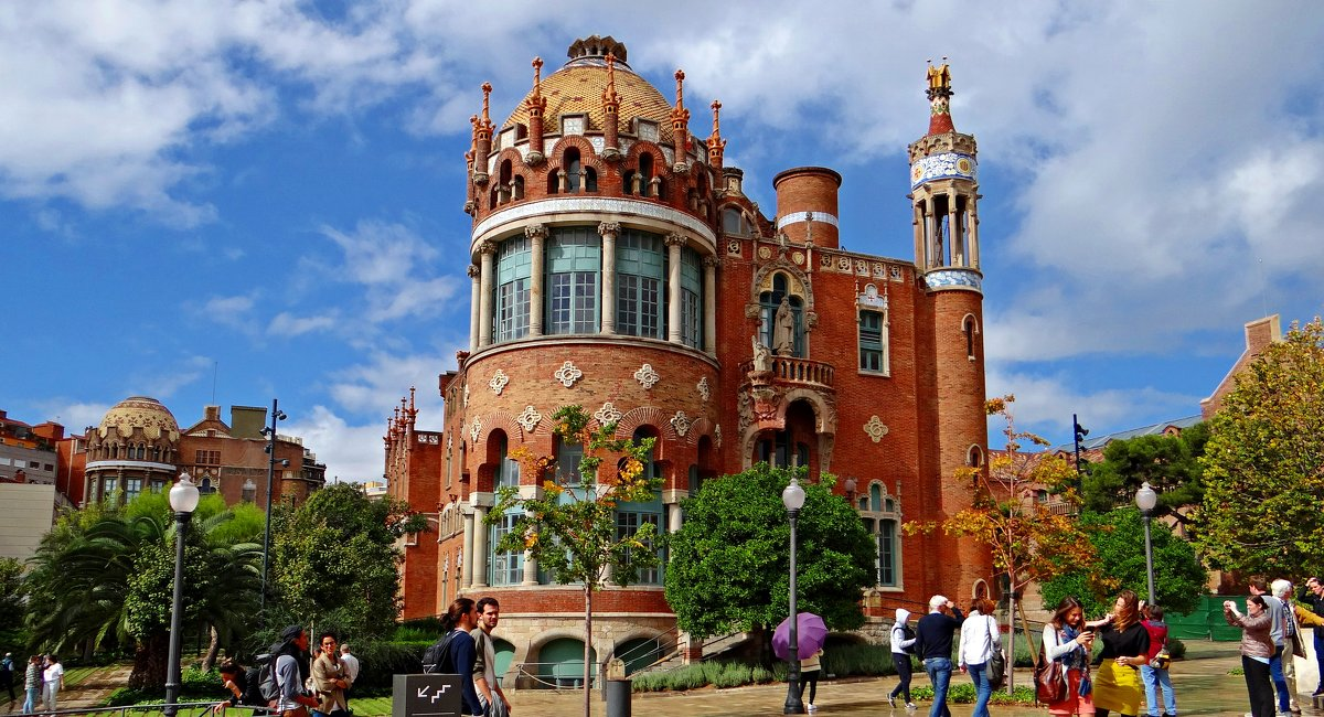 Архитектура Барселоны - Лариса
