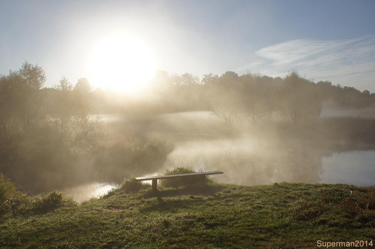 Утро на реке Серая