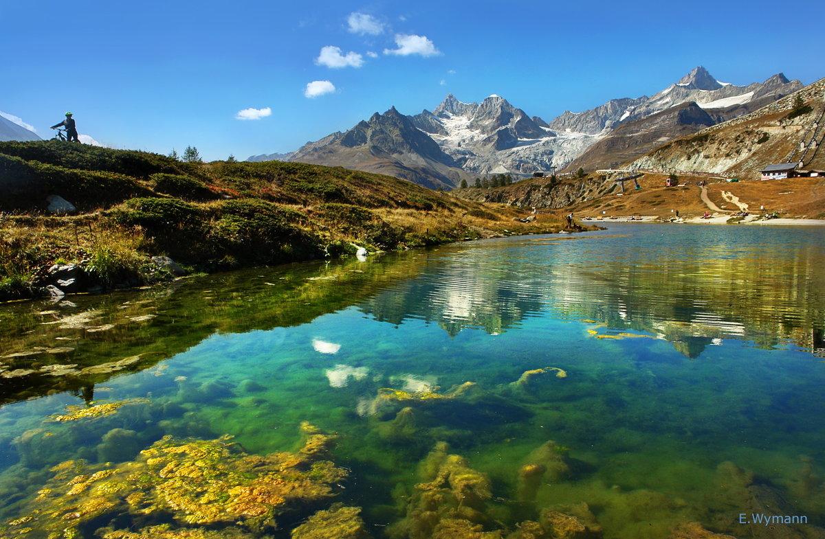 как зеркало озерная вода - Elena Wymann