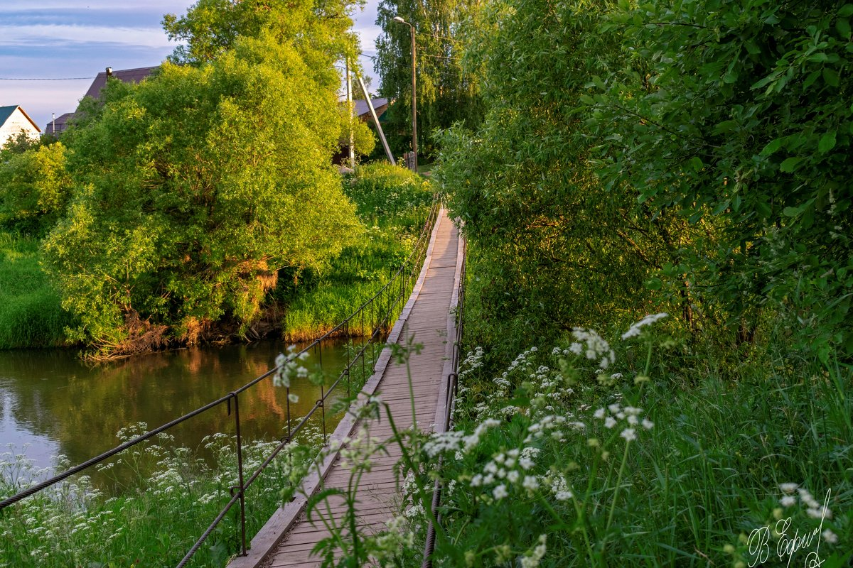 подвесной мостик - Владимир Ефимов