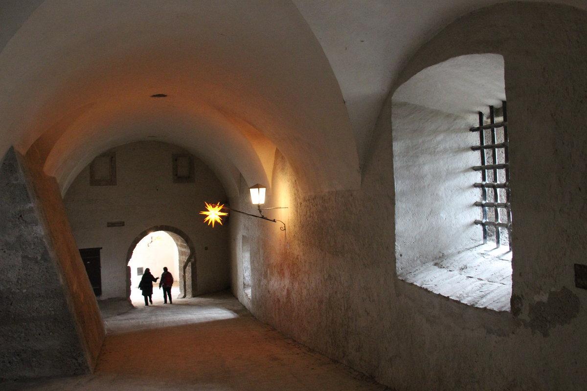 В крепости Зальцбурга - Любовь