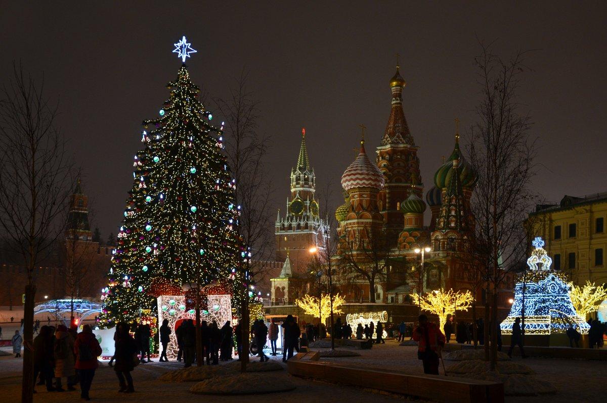 Новогодняя Москва. - Oleg4618 Шутченко