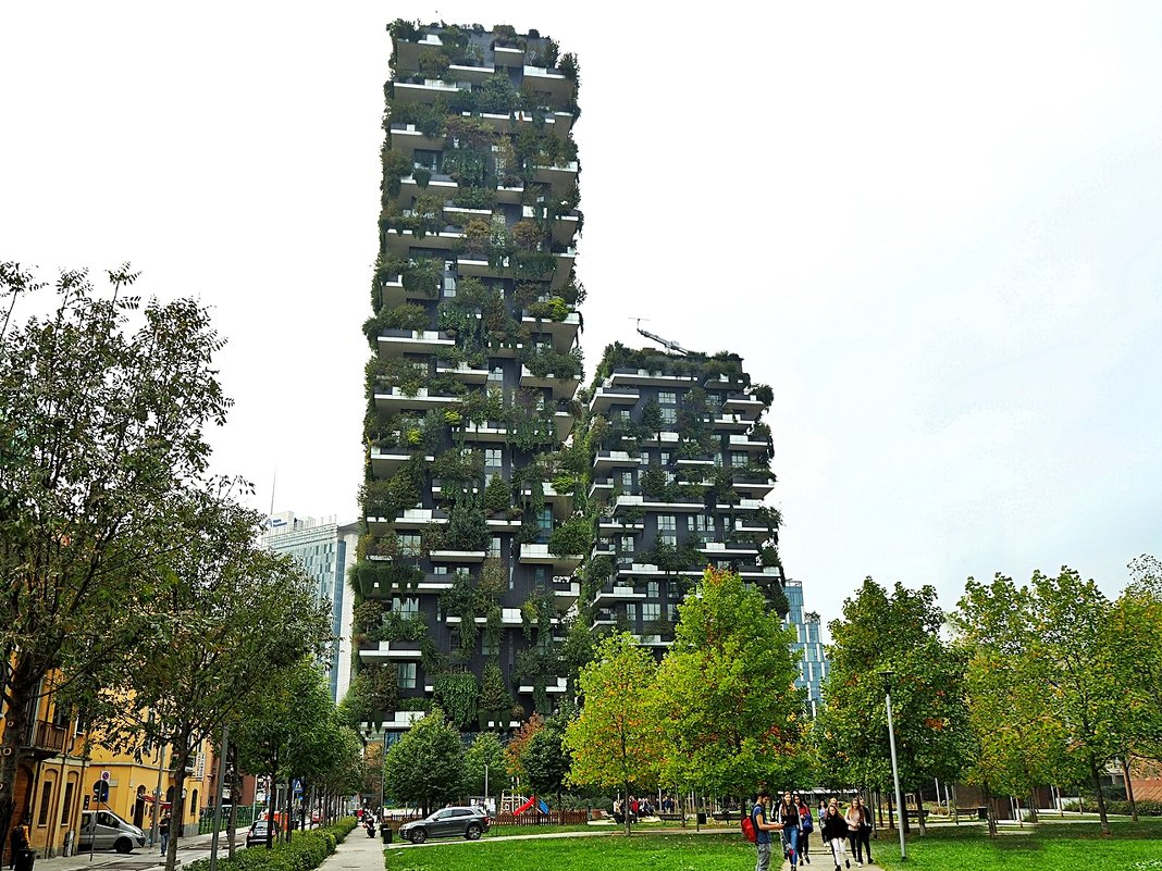 Greenroofs project of the week bosco verticale milano stefano