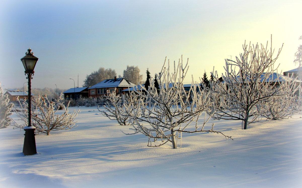 Зима в старом городе...