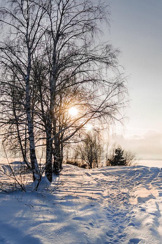 Морозный закат - Dmitry