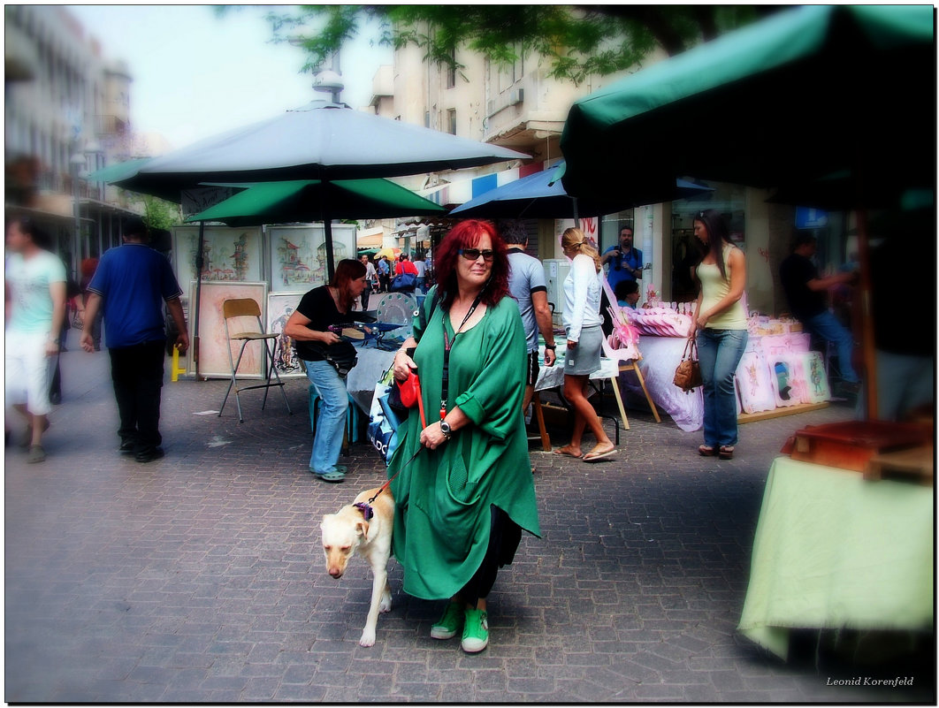 На улицах Тель-Авива. - Leonid Korenfeld