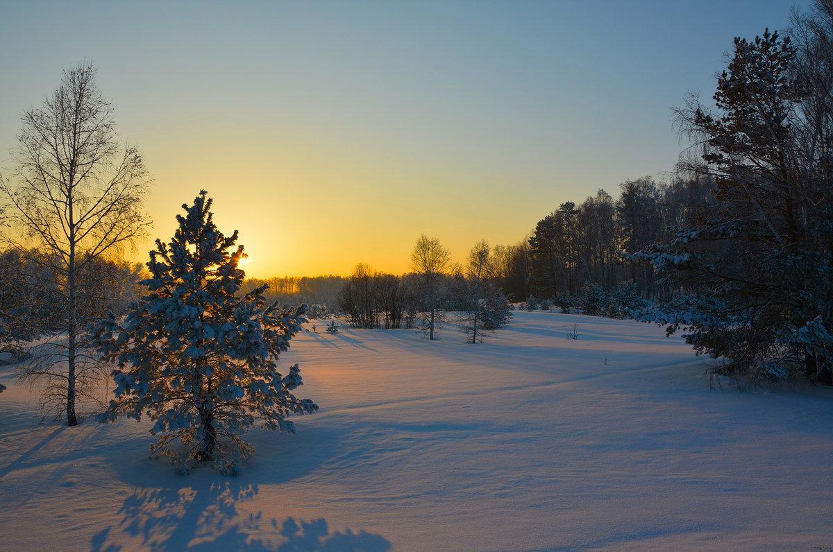 Приятный зимний вечер. - Валерий Медведев