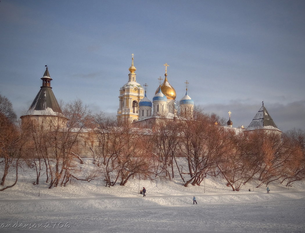 Новоспасский монастырь - anderson2706