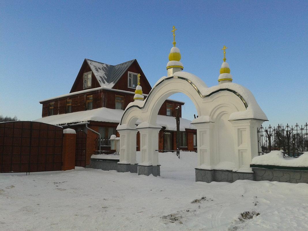 главные ворота в храм - Владимир