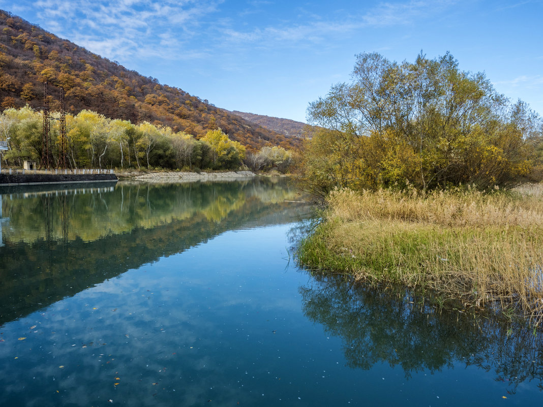 плотина на реке Иори - Лариса Батурова