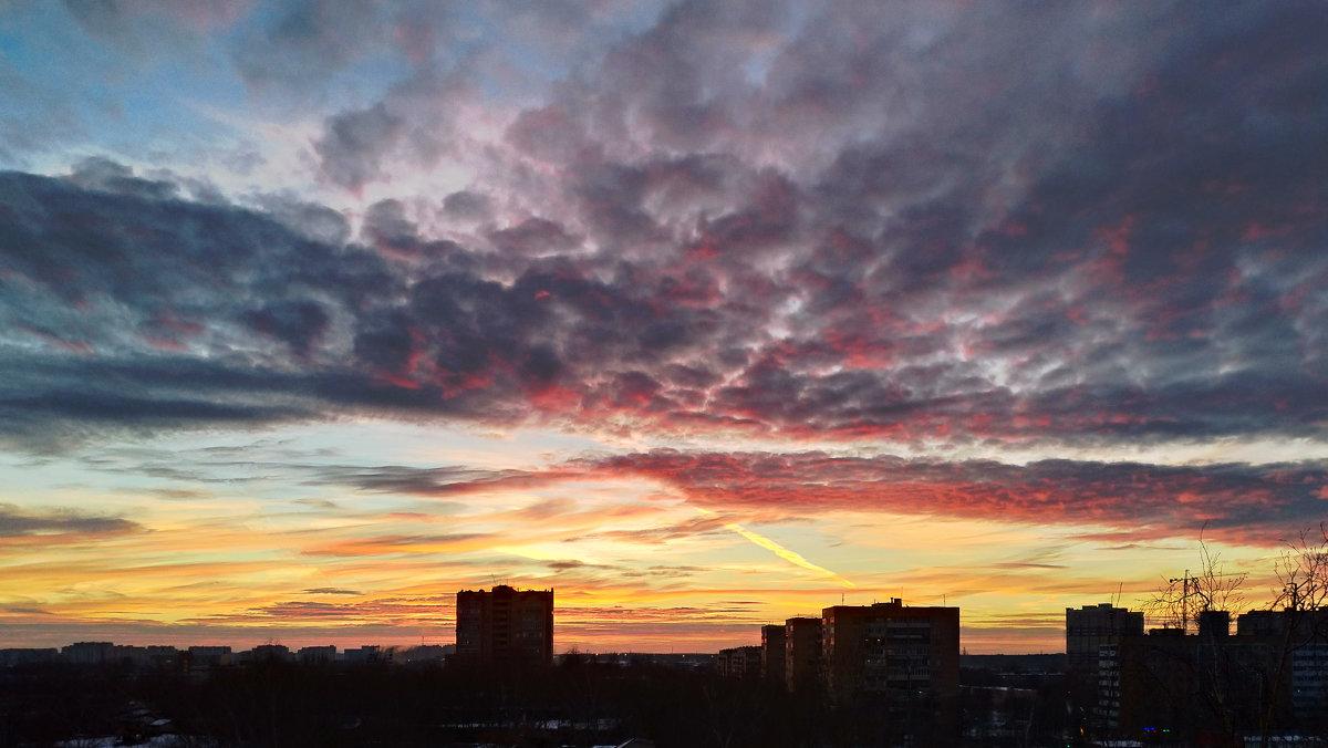 Закат над городом - Дмитрий Симонов