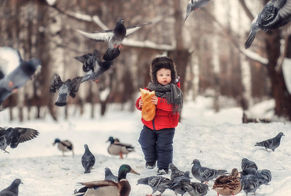 Родион и голуби) - Олька Никулочкина