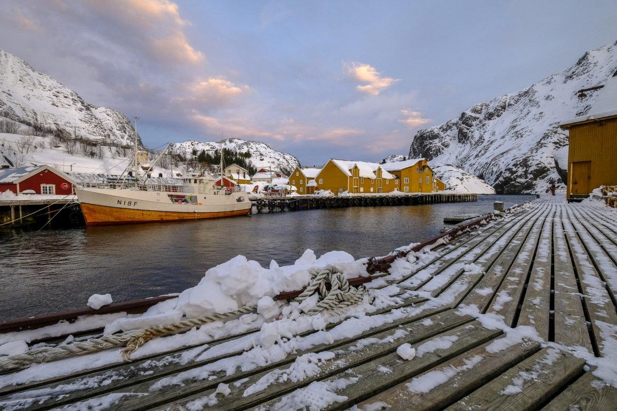 деревня Нусфьорд (Nusfjord) - Георгий А